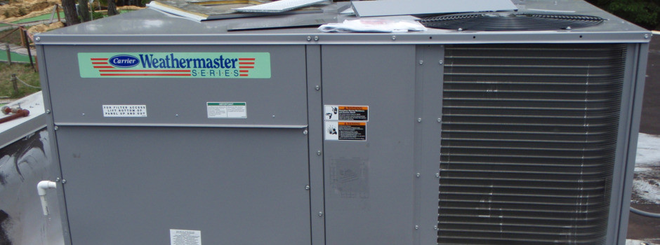 Carrier Commercial Air Conditioning Installation