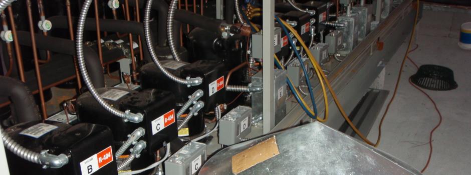 Series of Refrigerant Tanks Installation Orlando